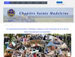 Site des Chapitres Sainte Madeleine, Saint Lazare Sainte Marthe - Accueil