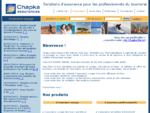 Chapka Assurances - Solutions pour les professionnels du tourisme
