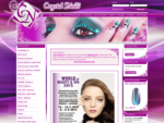 Crystal Nails - nehty, gely a laky