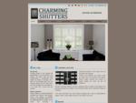Charming Shutters - charmeer uw leefruimte met onze shutters