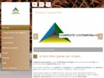 Constructeurs de chalets - Charpente Contemporaine à Saint Nazaire les Eymes