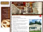 Taille de pierre, granits, Cheminées, taillés pour vous, par un maître artisan | CHARRIER PIERR
