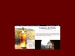 Château de Malle vin de Sauternes et monument historique