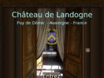 SIte officiel du ch226;teau de Landogne et de son association Les amis du ch226;teau de ...