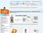 Chaudiere, radiateur, douche hydromassage et balnéothérapie à prix discount - Chauffage Direct