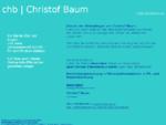 chb | Christof Baum