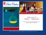 Chemi 8211; Teknik AS laboratorieutstyr kjemikalier Oslo laboratorie kjemi