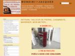 CHEMINEE ET TAILLE DE PIERRE FUNERAIRE MONDINI JACQUES CASSENEUIL DOUBLEFEU EDILKAMIN