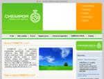 Chempor s. r. o. Azbest, chemické látky a prípravky, pracovná zdravotná služba, karta bezpečnost