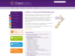 Chemsafety Leaders in Chemical Risk Management