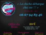 Chicha by Night - Livraison de narguileacute;s sur Toulouse