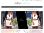 Chiffon Boutique | Women's Online Clothing Store