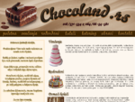 Chocoland. rs - Torte i kolači Niš, torte za venčanja, rođendanske torte, domaći kolači, ukrasi