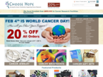 Choose Hope | Cancer Awareness Products That Fund Cancer Research