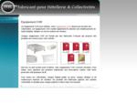 Équipement CHR Hôtelier - Équipement et Fournitures pour Café Hôtel Restaurant et Collectivités