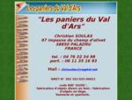 Les paniers du Val d'Ars