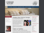 Chrissie Moore Interiors, Hawkes Bay Interior Designer Havelock North