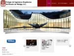 Colegio de Ingenieros Arquitectos del Estado de Hidalgo - Inicio