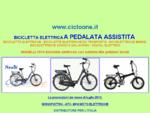 Biciclette elettriche modelli e prezzi Cicloone bici elettrica