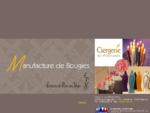 ciergerie des premontes, graveson, provence, atelier de fabrication, vente, boutique, bougies,