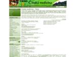 Čínská medicína - Tiens