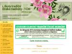 Aktuality 1. škola tradiční čínské medicíny