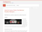 Giochi di Casino Online Slot Machine, Roulette, Blackjack, ....