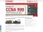 CCNA, CCNA training Mississauga | CCNA voice | CISNET