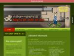 Čistenie odpadov - Hlavná stránka