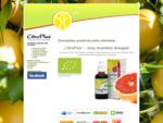 Greipfrutų sėklų ekstraktas - CitroPlus - Ekologiškas greipfrutų sėklų ekstraktas