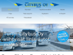 Linja-autokuljetus, tilausajo, tilausajot, Turku | Turun Citybus Oy