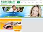 Klinika stomatologiczna City Dent Warszawa - implanty, protetyka oraz wybielanie zębów - Start