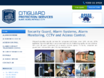ALARM SYSTEMS, SECURITY GUARD HIRE, MONITORING, CCTV, SERVICE COMPANIES HOME SYDNEY