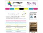 City Print | kopi og print i København og Rødovre