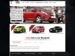 RENT A CAR BEOGRAD | City Rent a Car Beograd | Iznajmljivanje automobila bull; Home