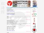 Shotokan Karate Klub Český Krumlov