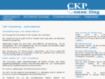 CKP Consulting - Betriebliche Vorsorge - Finanzdienstleistungen
