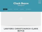 Lawyers Christchurch NZ | Clark Boyce Lawyers New Zealand - Home - Lawyers Christchurch | Clark Bo