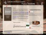 Librairie Clavreuil Teissèdre vente livre, autographes, tableaux, livres anciens