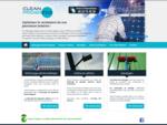 Société de nettoyage de panneaux photovoltaiques et surfaces vitrées à l'eau pure. Clean Progres...