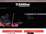 CLEANline Reinigungstechnik - Kehrsaugmaschinen, Kehrbesen, Staub- und Wassersauger