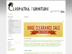 Products - Cleopatra Furniture