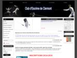 Club d039;Escrime de Clermont - Accueil