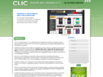 En Clic nos especializamos en el diseño web, desarrollo web y aplicaciones web en Guadalajara, Jal
