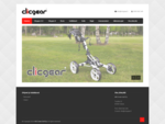 Clicgear - quot;The Next Generation In Golf Push Cart Technologyquot;™