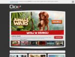 Click. pl - Zagraj w najlepsze gry online. Zobacz najpopularniejsze gry w sieci. Dołącz do graczy,