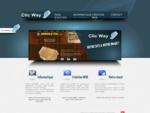 Clic Way - Dépannage informatique, création site Internet - Alsace Colmar