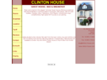 Clinton House - Guest House Bed and Breakfast, Exmouth, EX8 1BA, UK