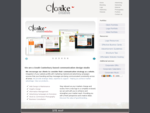 Cloake Creative - Website Graphic Design Communication Studio | Creative Portfolio
