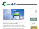 Cloud4all - flexibler Service für jeden Bedarf
